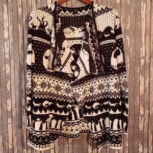 Nightmare Before Christmas cardigan sweater